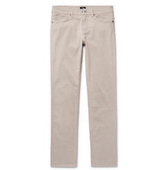 Hugo Boss - Delaware Slim-Fit Stretch-Cotton Twill Trousers