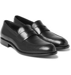 Hugo Boss - Stockholm Polished-Leather Penny Loafers