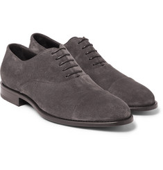 Hugo Boss Stockholm Suede Oxford Shoes