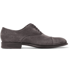 Hugo Boss - Stockholm Suede Oxford Shoes