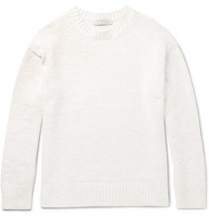 Tomorrowland Slim-Fit Slub Cotton-Blend Sweater