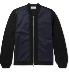 Tomorrowland Slim-Fit Panelled Shell Bomber Jacket