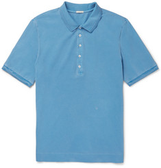 Massimo Alba Stretch-Cotton Piqué Polo Shirt