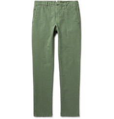 Incotex - Slim-Fit Stretch-Cotton Twill Chinos