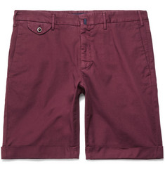 Incotex - Stretch-Cotton Shorts