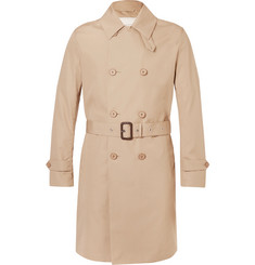 Mackintosh Slim-Fit Belted Bonded-Cotton Raincoat