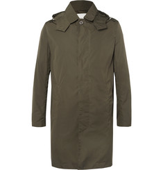 Mackintosh Bonded-Shell Hooded Raincoat
