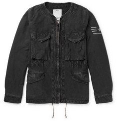 visvim Reserves Printed Cotton-Canvas Jacket