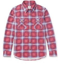 visvim - Checked Cotton-Flannel Shirt