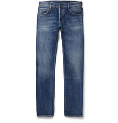 visvim - Social Sculpture 01 Slim-Fit Distressed Selvedge Denim Jeans