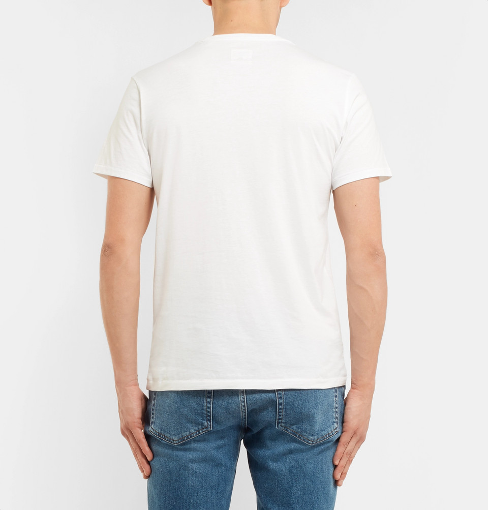 rag & bone Standard Issue Cotton-Jersey T-Shirt