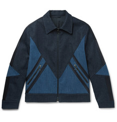 Neil Barrett Panelled Stretch-Denim Jacket