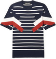 Neil Barrett - Slim-Fit Striped Knitted T-Shirt