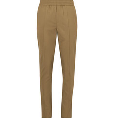 Neil Barrett Slim-Fit Stretch Virgin Wool Drawstring Trousers