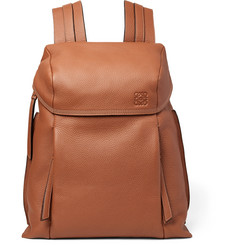 Loewe - Full-Grain Leather Backpack
