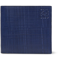 Loewe Embossed Leather Billfold Wallet
