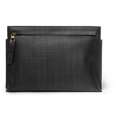 Loewe Textured-Leather Pouch