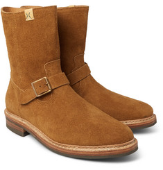visvim - Folk Brushed-Suede Boots