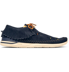 visvim Maliseet Shaman-Folk Beaded Suede Sneakers