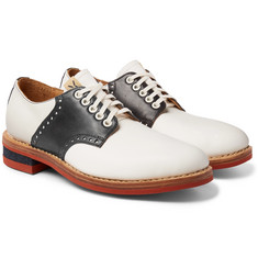 visvim - Patrician Folk Two-Tone Leather Derby Shoes