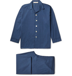 Cleverly Laundry Washed-Cotton Pyjama Set