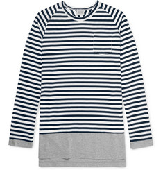 Wooster + Lardini Slim-Fit Layered Cotton-Jersey T-Shirt