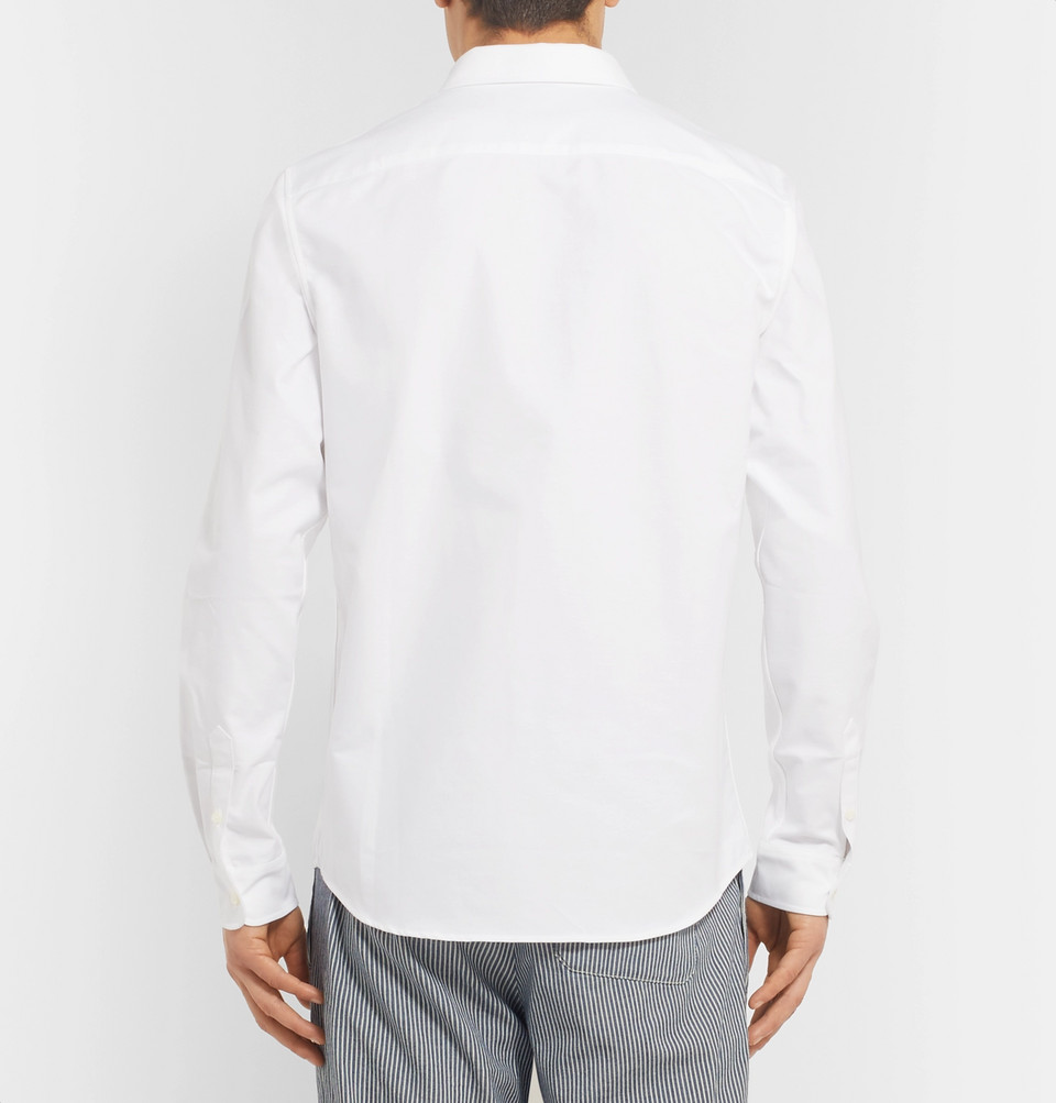 A.P.C. Slim-Fit Button-Down Collar Cotton Oxford Shirt