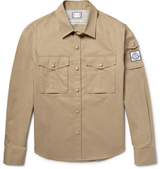 Moncler Gamme Bleu Slim-Fit Cotton-Gabardine Overshirt