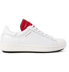 Moncler Joachim Quilted Shell and Leather Sneakers