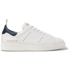 Golden Goose Deluxe Brand Starter Contrast-Trimmed Perforated Leather Sneakers