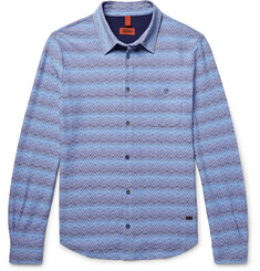 Missoni Slim-Fit Patterned Cotton Shirt