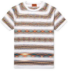 Missoni Slim-Fit Space-Dyed Knitted Cotton T-Shirt