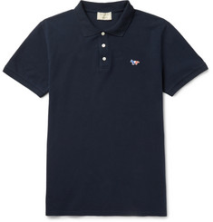 Maison Kitsuné - Cotton-Piqué Polo Shirt