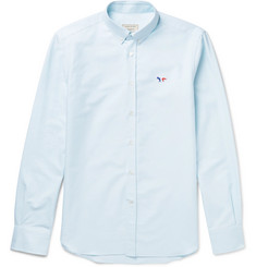 Maison Kitsuné Slim-Fit Cotton Oxford Shirt