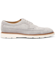 Tod's Suede Longwing Brogues