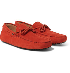 Tod's - Gommino Full-Grain Nubuck Driving Shoes