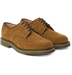 Church's - Riverton Suede Wingtip Brogues