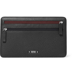 Hugo Boss Leather Travel Wallet