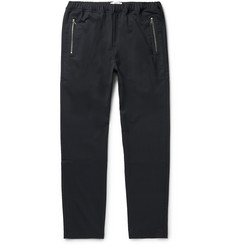 OAMC Slim-Fit Tapered Stretch-Twill Drawstring Trousers