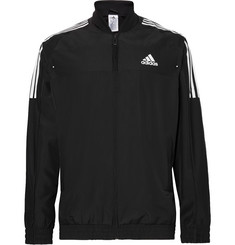 Adidas Sport Club Jersey-Panelled Climacool Tennis Jacket