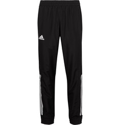 Adidas Sport Club Tapered Jersey-Panelled Climacool Sweatpants