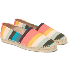 Paul Smith - Sunny Striped Canvas Espadrilles