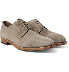 Paul Smith Ernest Cap-Toe Suede Derby Shoes