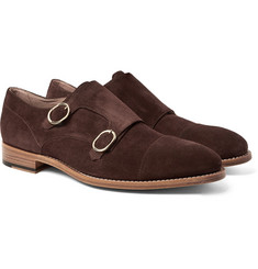 Paul Smith - Atkins Suede Monk-Strap Shoes