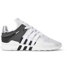 adidas Originals EQT Support ADV Rubber and Faux Suede-Trimmed Mesh Sneakers