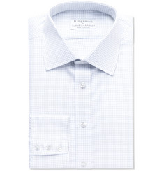 Kingsman + Turnbull & Asser Checked Cotton Shirt