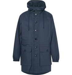 Helbers Coated-Cotton Hooded Parka