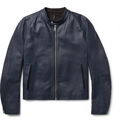 Helbers Leather Café Racer Jacket