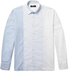 Helbers Panelled Cotton-Muslin Shirt