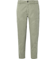 Folk Garment-Dyed Cotton-Twill Cargo Trousers